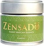ZENSADO® | CLASSIC | FINEST MATCHA ESSENCE | Matcha-Tee-Pulver | Grüntee-Pulver für Matcha-Getränk, Matcha-Smoothies, Matcha-Latte | Premium Qualität aus Japan | 30g