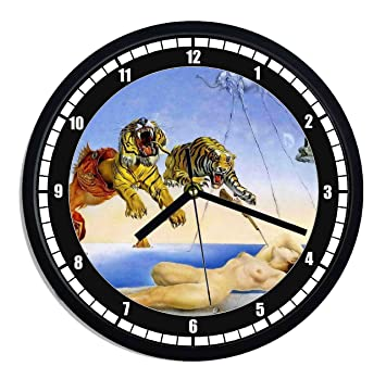 Reloj de pared de plástico Salvador Dali – Dream caused by the Flight of a