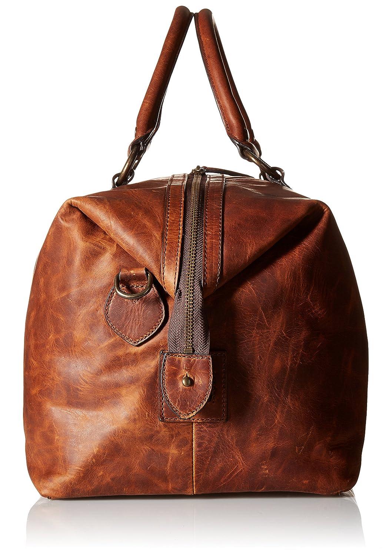 Amazon.com: Frye Men's Logan Overnight Duffle Bag, Cognac, One Size:  Clothing