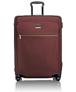 Tumi Larkin, Maleta expandible para viajes cortos Jess con 4 ruedas, 66 cm, 84 L, Bordeaux, 073764BRD: Amazon.es: Equipaje
