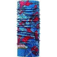 Buff Spiderman Warrior Tubular, Unisex Adulto, Multicolor, Talla