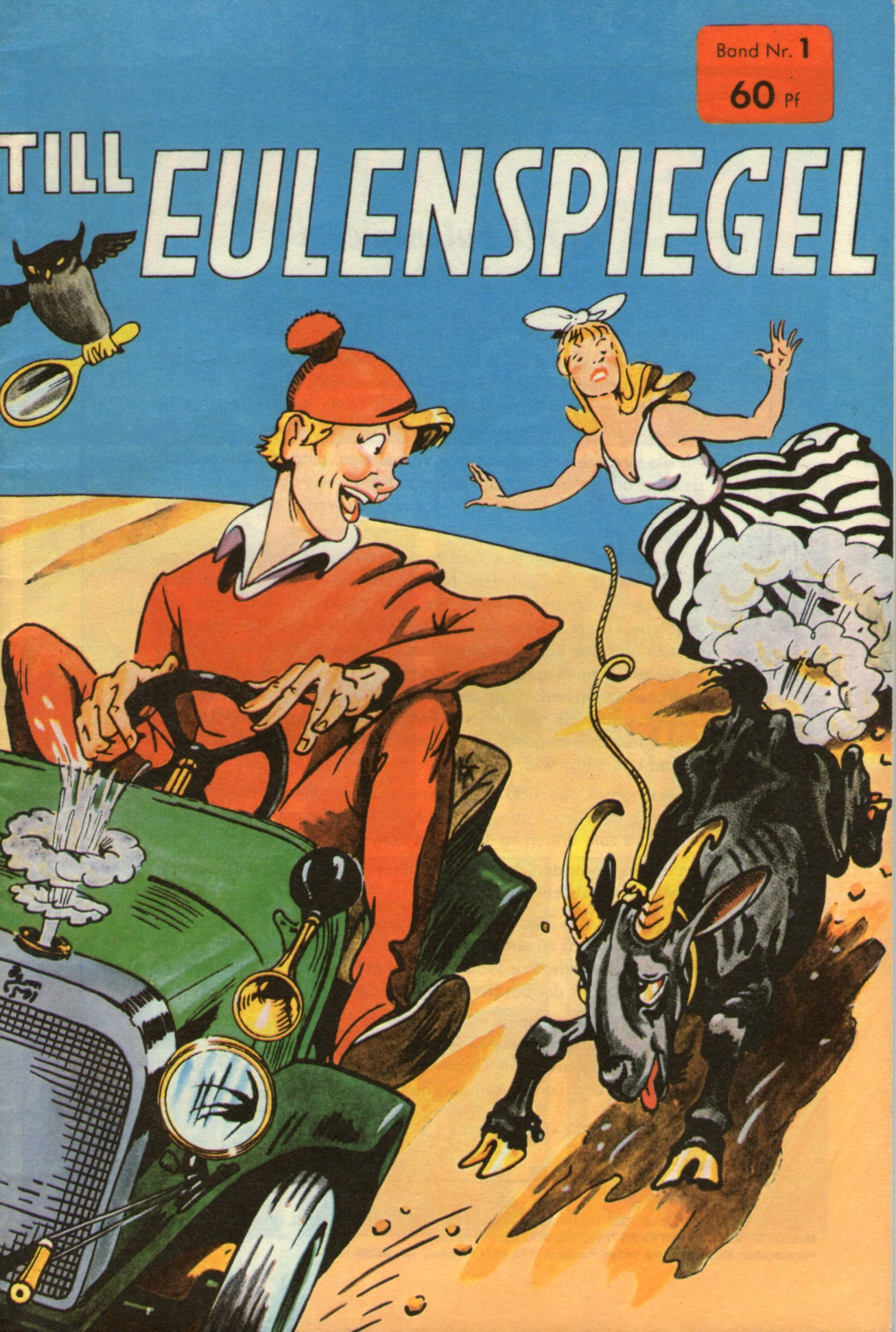 Hethke Comics Till Eulenspiegel # 1 - Rolf Kauka - Fix und Foxi Comic 1993 Comic – 1993 B009GFY8S0 Belletristik - Comic Cartoon