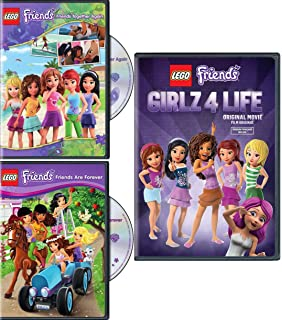 Amazoncom Lego Friends Friends Are Forever Dvd Various Movies