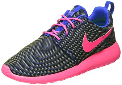 Nike Unisex-Erwachsene Roshe One Gymnastikschuhe, Multicolore Cobalt Hyper  Pink Volt  2fc5ad95d6