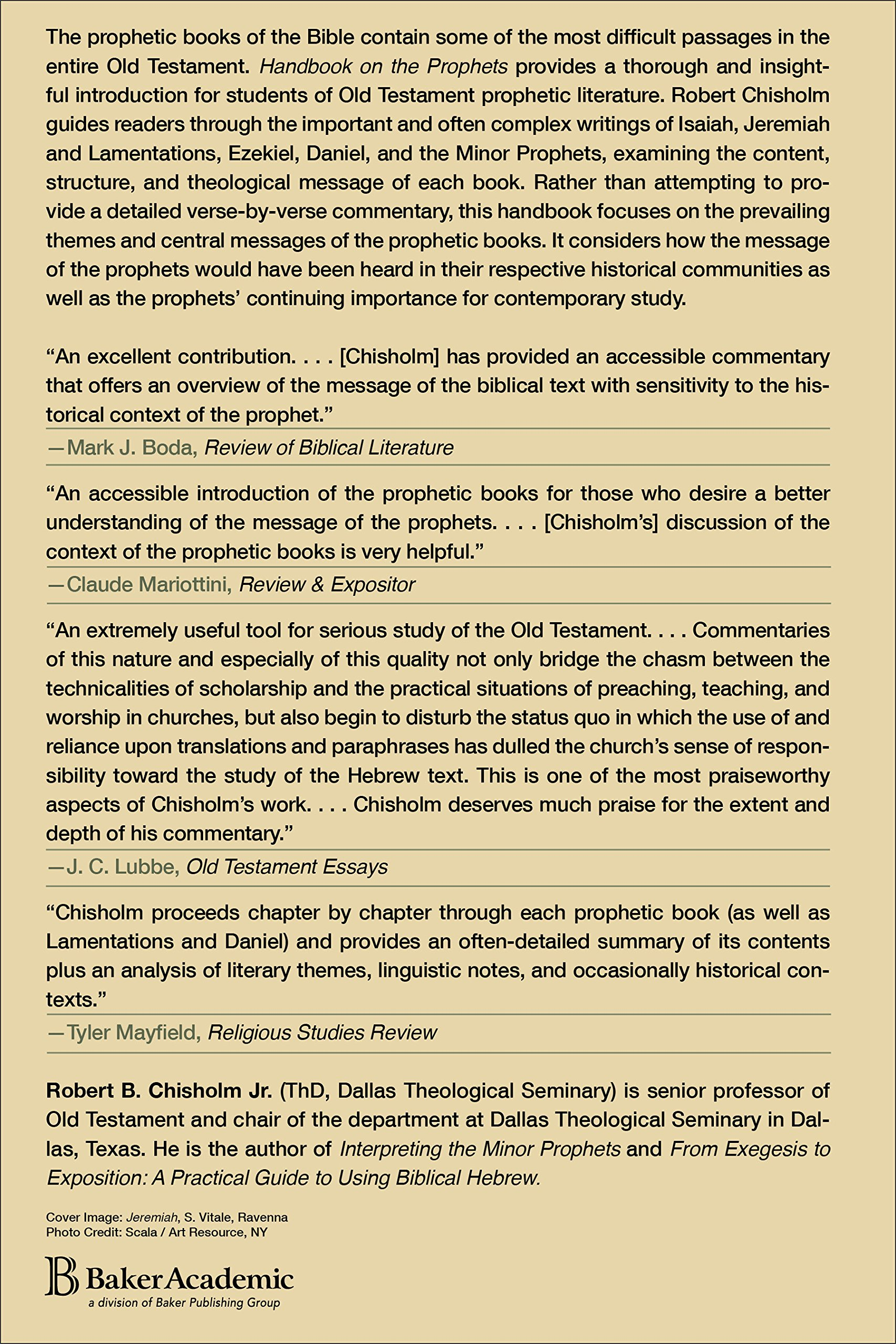 Buy handbook on the prophets book online at low prices in india handbook on the prophets reviews ratings amazon in