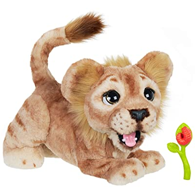 Hasbro Disney The Lion King Mighty Roar Simba Interactive Plush Toy, Brought to Life by Furreal, 100+ Sound &-Motion Combinations, Ages 4 & Up: Toys & Games