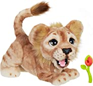 Hasbro Disney The Lion King Mighty Roar Simba Interactive Plush Toy, Brought to Life by Furreal, 100+ Sound &-Motion Combinat