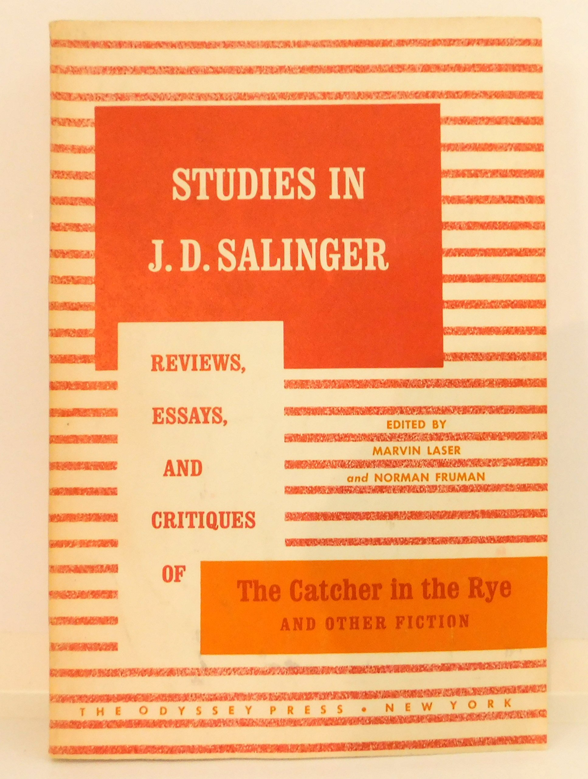 Analytical Essay Thesis Studies In J D Salinger Reviews Essays And Critiques Of The Catcher In  The Rye And Other Fiction Marvin Ed Laser  Amazoncom  Books My First Day Of High School Essay also Research Paper Essay Example Studies In J D Salinger Reviews Essays And Critiques Of The  Abraham Lincoln Essay Paper