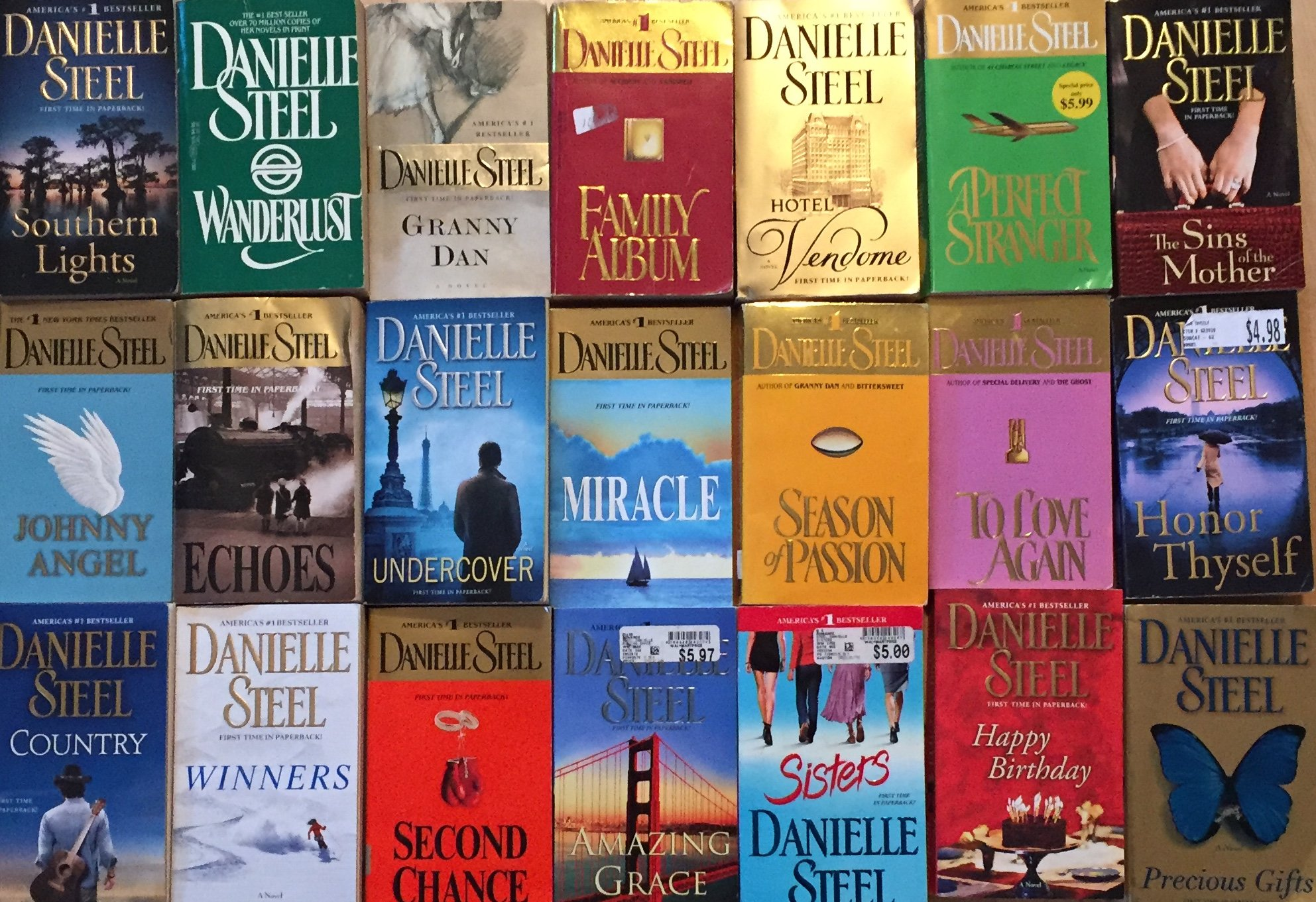 Danielle steel ebook collection free download.
