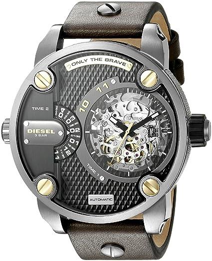 875e33183291 Diesel Hombre dz7364 la Daddies Serie japonés - Reloj automático Marrón   Diesel  Amazon.es  Relojes