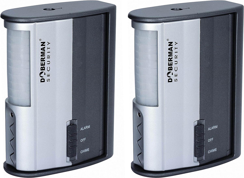 I6D3 SE-0104 Doberman Security Infrared Technology Security Alarm, White 3X