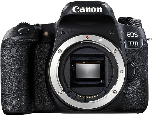 8 opinioni per Canon SLR EOS 77D Fotocamera Digitale, Nero [Versione Canon Pass Italia]
