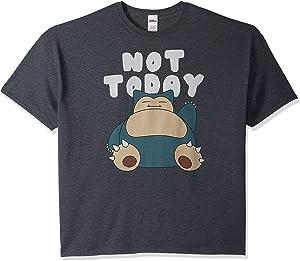 Pokemon Men's Snorlax Not Today T-Shirt