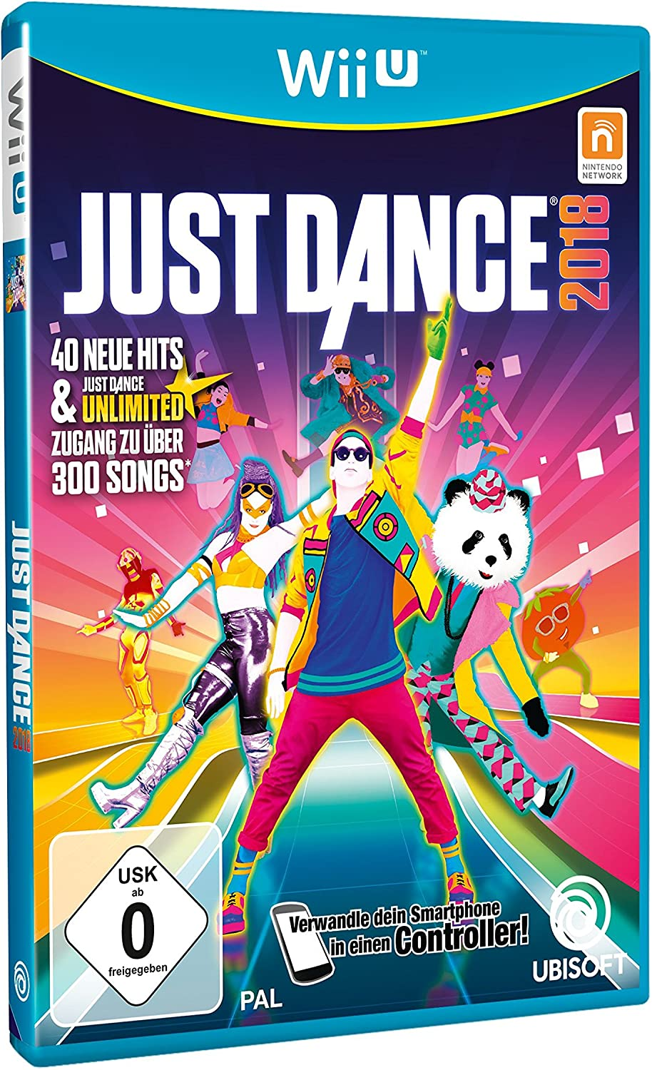 Just Dance 2018 - [Nintendo Wii U] [Importación alemana]: Amazon ...