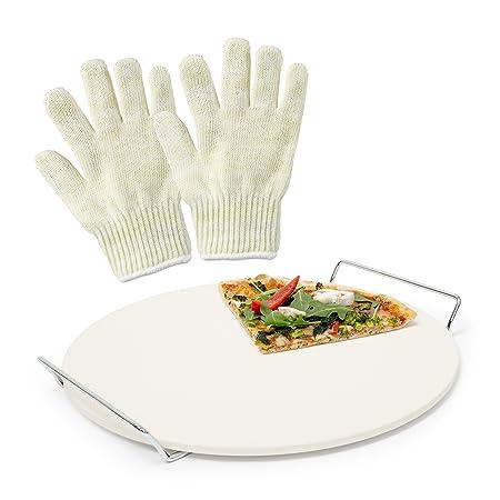 3 piezas de Juego, Pizza Pizza piedra de cordierita, para horno y ...