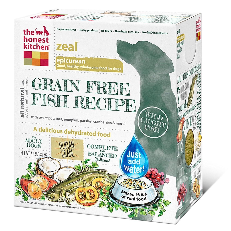 The Honest Kitchen Zeal Grain Free Dog Food - Natural Human Grade ...