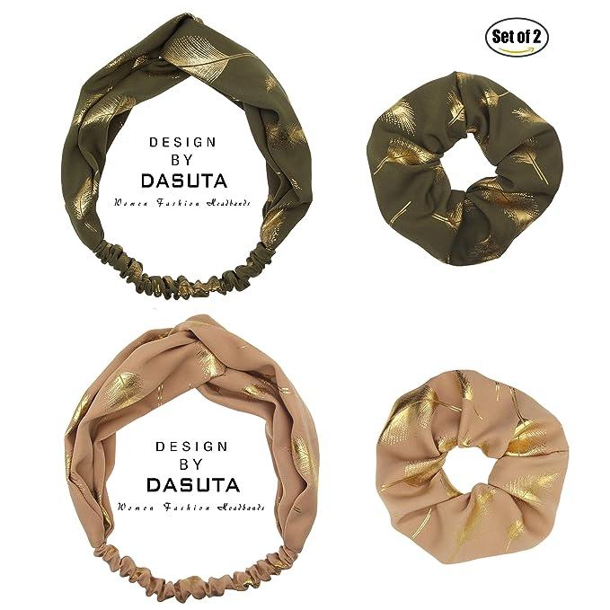Amazon.com: Set de 2 diademas de plumas de la mujer style ...