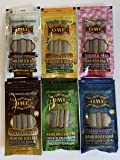 OME Palm Leaf Wraps 6 Pack Variety Natural Blueberry Banana Twist Russian Cream Bubblegum Cones Mini