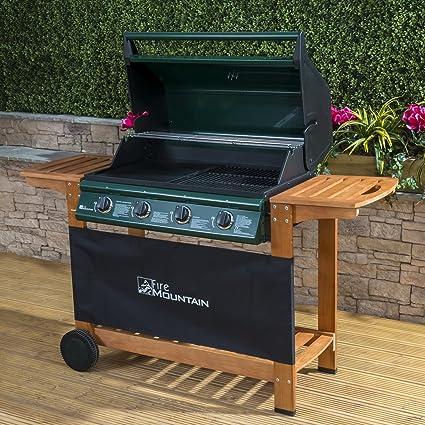 Amazon.com: Home & Garden Direct Fire Mountain Premium 4 ...