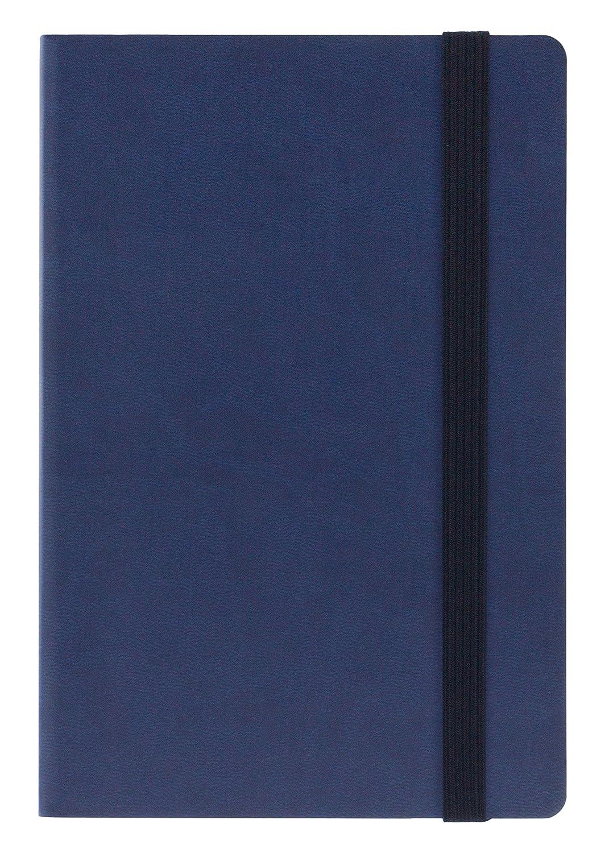 Liens ag160301Agenda semainier 16mois, 480Pages, 120x 180mm, bleu