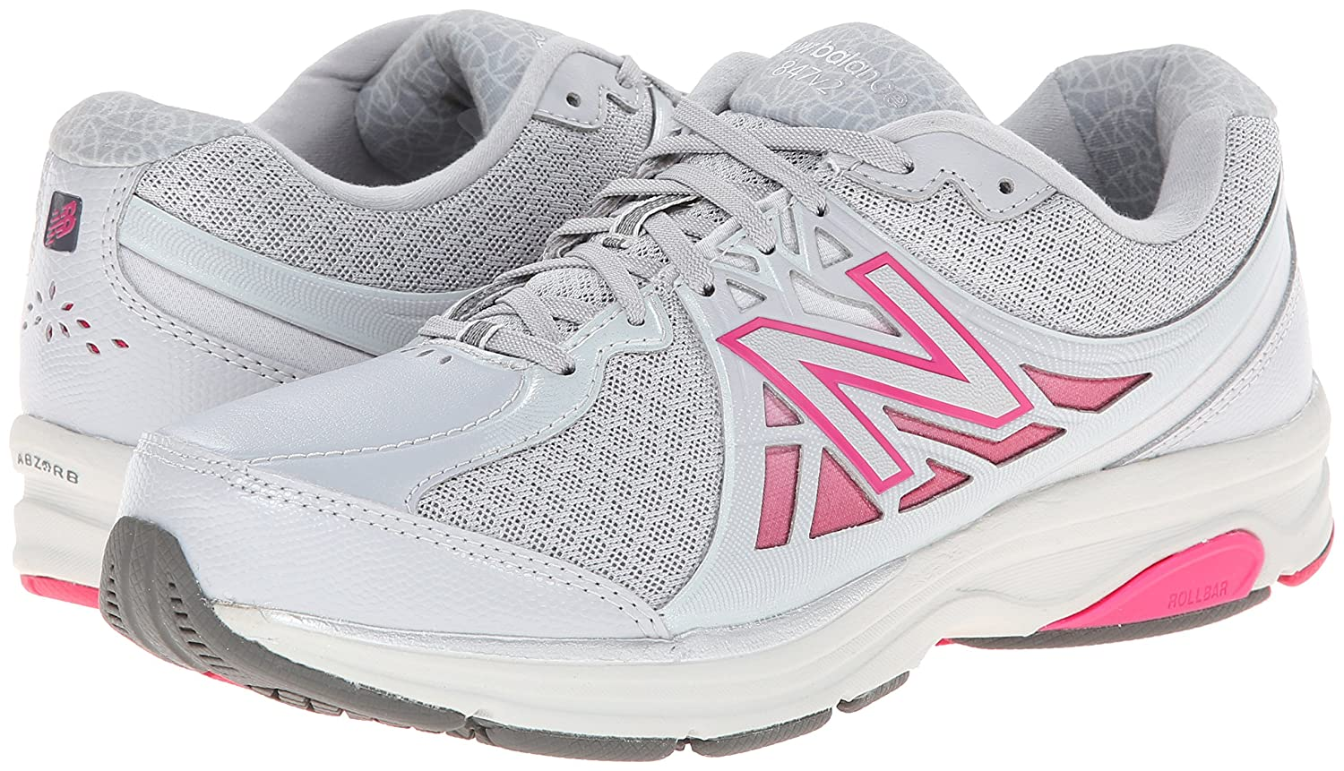 New Balance Women's 7.5 WW847V2 Walking Shoe B00IY8U3BG 7.5 Women's 2A US|Grey c90010