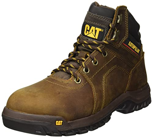 Caterpillar Mens Diffuse Steel Toe Brown Industrial Boot Brown 7 D