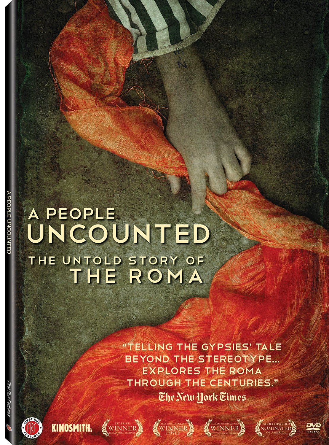 DVD : Robi Botos - A People Uncounted: The Untold Story Of The Roma (Widescreen)