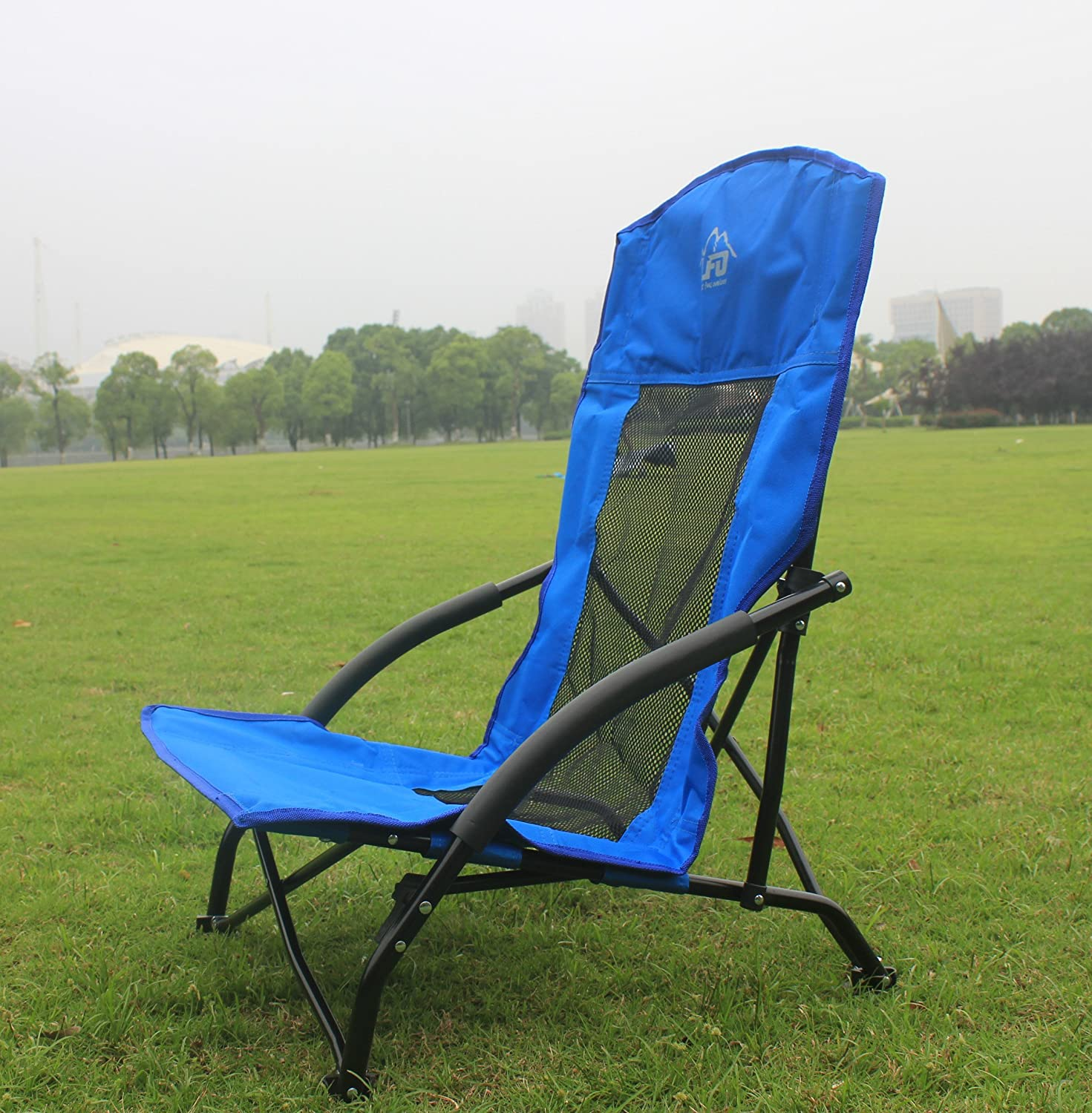 Amazon Funs Portable Low Sling Folding Chair pact In a