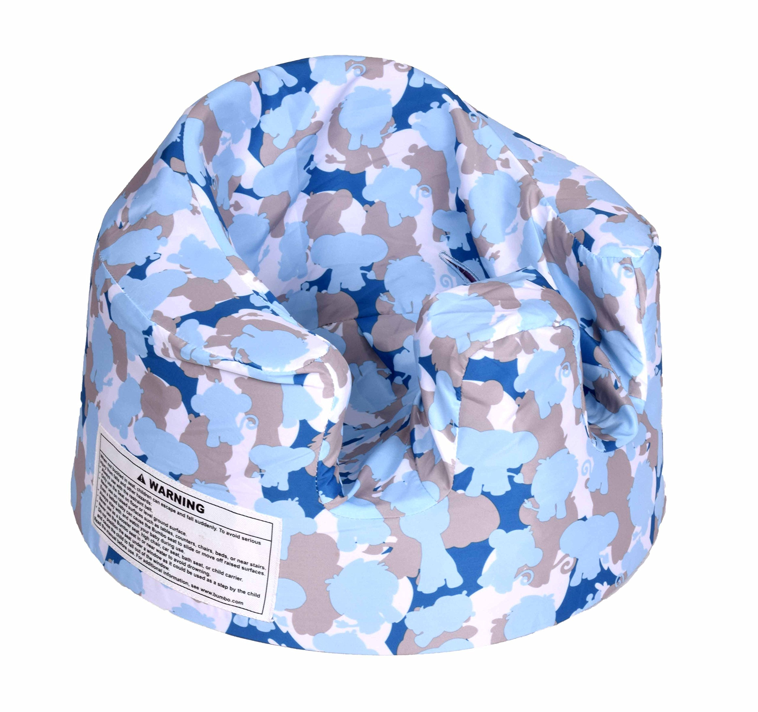 Bumbo Baby Support Floor Seat Cover   Blue Camouflage