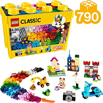 LEGO Classic - Caja de ladrillos creativos grande, Set de ...