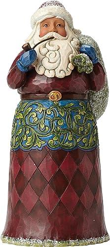Jim Shore for Enesco Heartwood Creek Victorian Santa with Toy Bag Figurine, 9