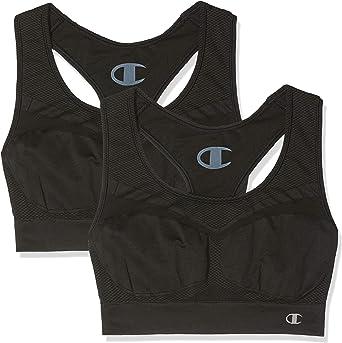 TALLA XS. Champion Sujetador Deportivo (sin Costuras) (Pack de 2) para Mujer