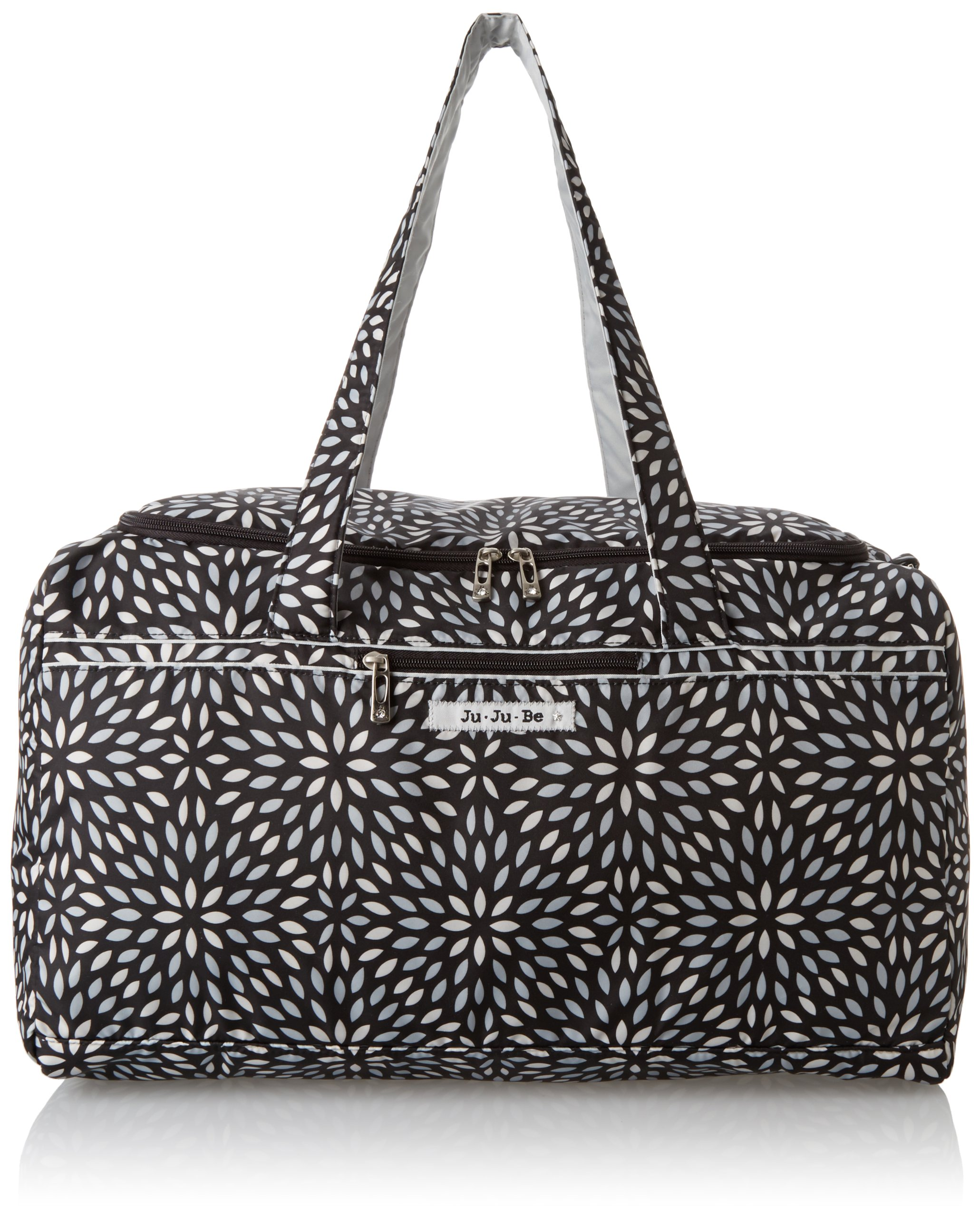 Ju-Ju-Be Super Star Large Travel Duffel Bag, Platinum Petals