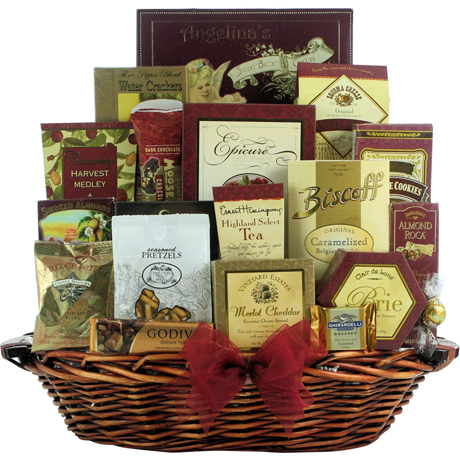 Amazon great arrivals gourmet gift basket the finer things amazon great arrivals gourmet gift basket the finer things gourmet snacks and hors doeuvres gifts grocery gourmet food negle Image collections