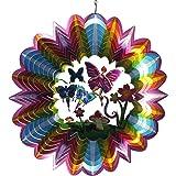 Spin-Art Windspiel 3D Fairy, mehrfarbig, 30x30x0,15 cm, 12DFA300