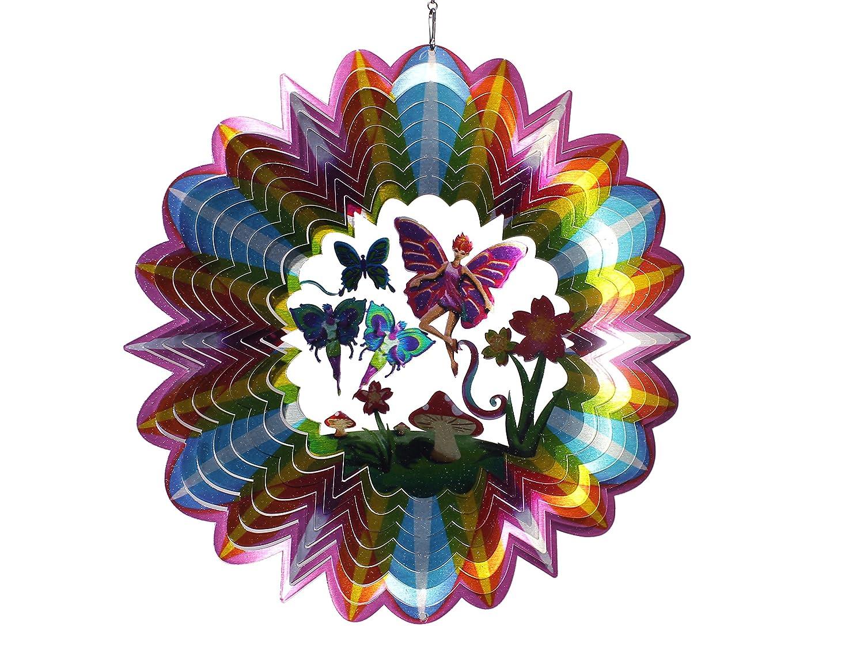 Spin Type de Carillon 3D Fairy Multicolore 30/x 30/x 0,15/cm 12dfa300