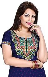Unifiedclothes Women Fashion Casual Short Indian Kurti Tunic Kurta Top Shirt Dress 137A