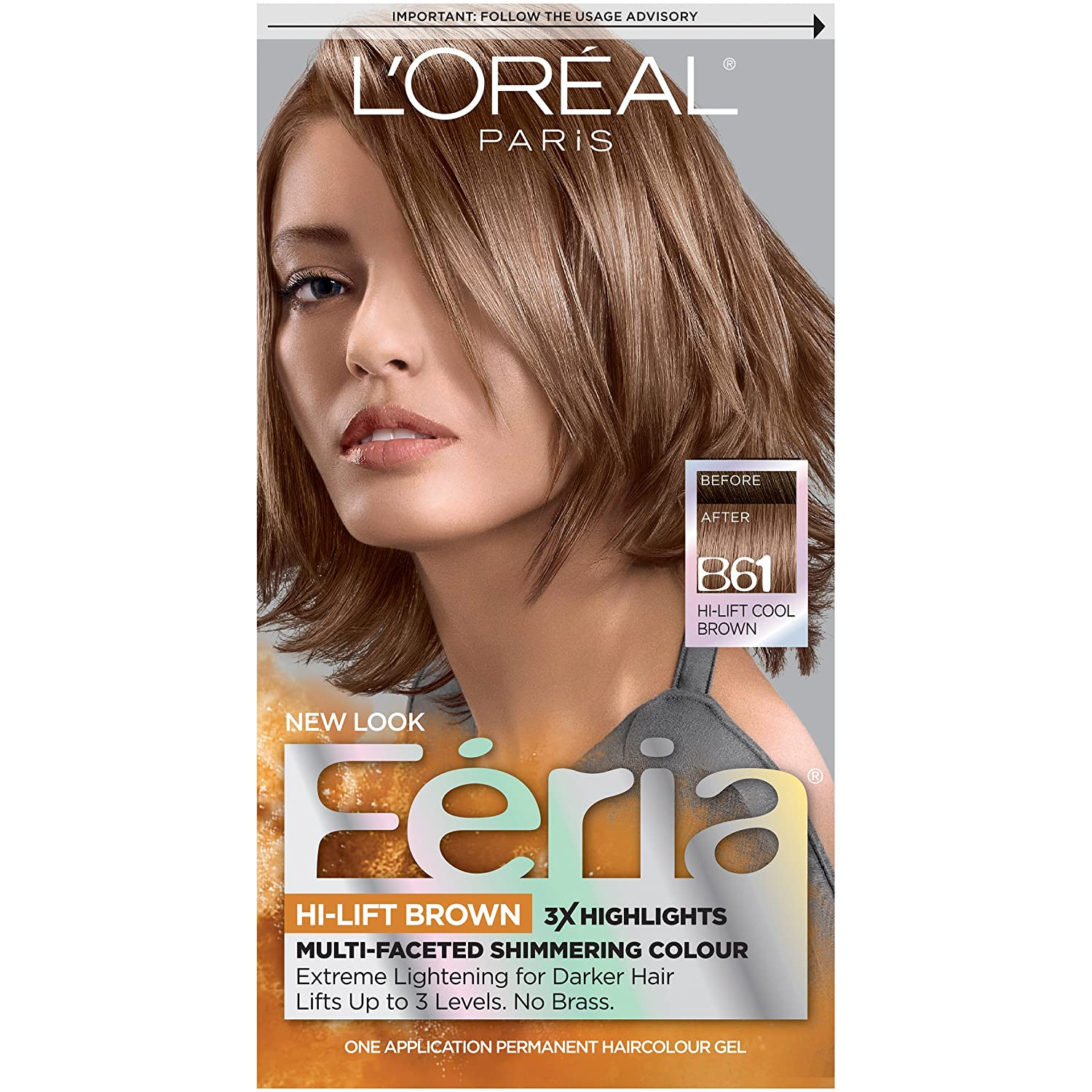 Hair color chart loreal canada shades of brown hair color free l oreal feria hi lift browns downtown brown amazon co uk beauty rh amazon co uk loreal preference hair color shades ash blonde hair color nvjuhfo Images