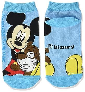calcetines de Disney Mickey Mouse calcetines de color azul claro 22‡p ~ AWDS2484J 24cm: Amazon.es: Juguetes y juegos