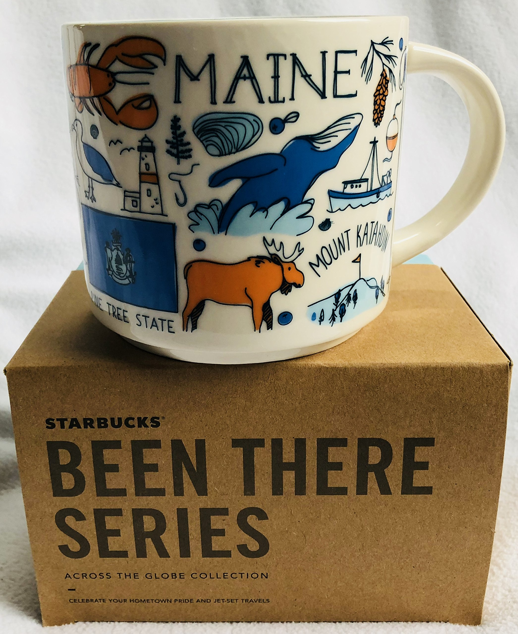 Starbucks Maine Coffee Mug Been There Series Across the Globe Collection