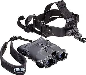 Yukon NV 1x24 - Prismáticos de visión nocturna con