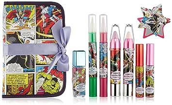 Amazon.com: Marvel cosméticos Box Set con maquillaje bolsa ...