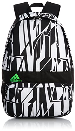 a11a5b06ef Image Unavailable. Image not available for. Colour  Adidas Boys Black  School Rucksack Backpack Shoulder Bag ...