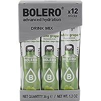 Bolero Functional Food Sticks White Grape - Pacco da 12 x 3 g