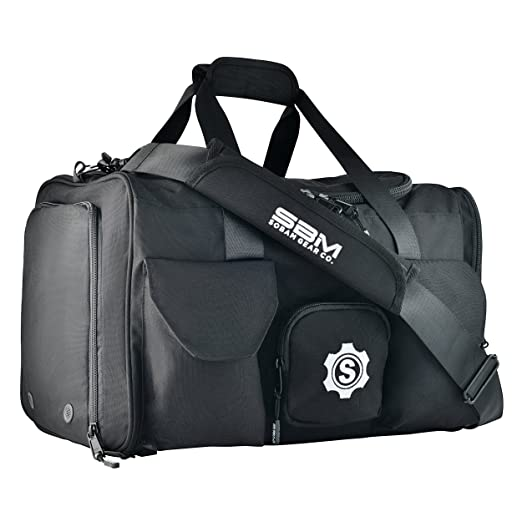 be659bdea377 Amazon.com  SOBAM Gear Co. Large Gym Duffel Bag Workout Bag for Men ...