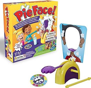 Hasbro Gaming - Juego para Fiestas Pie Face: Amazon.es: Juguetes y juegos