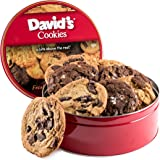Oversized Decadent Cookies, 2lb Tin, Assorted Flavors