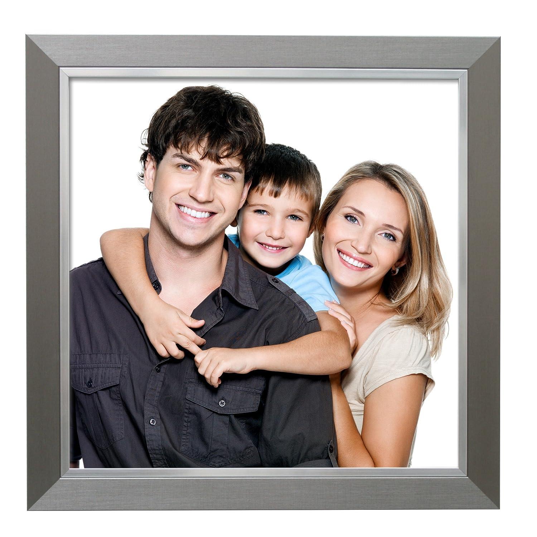 Deknudt Frames S41ND1 Cadre Photo avec Filet Résine Argent 10 x 15 cm #N/A
