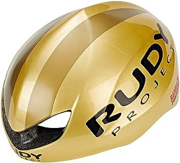 Rudy Project Boost Pro - Casco de Bicicleta - Dorado Contorno de la Cabeza S-M |