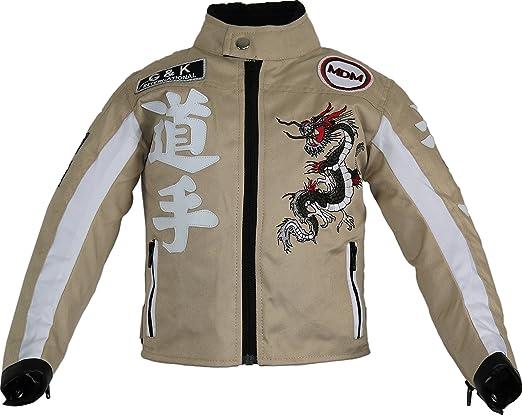 Mdm Kinder Biker Jacke Bekleidung